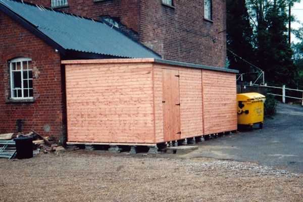 Shed by Portsmouth Fencing